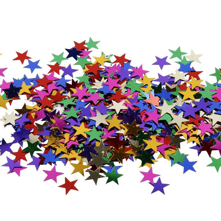 Stjernepailletter størrelse 10 mm   250 gram