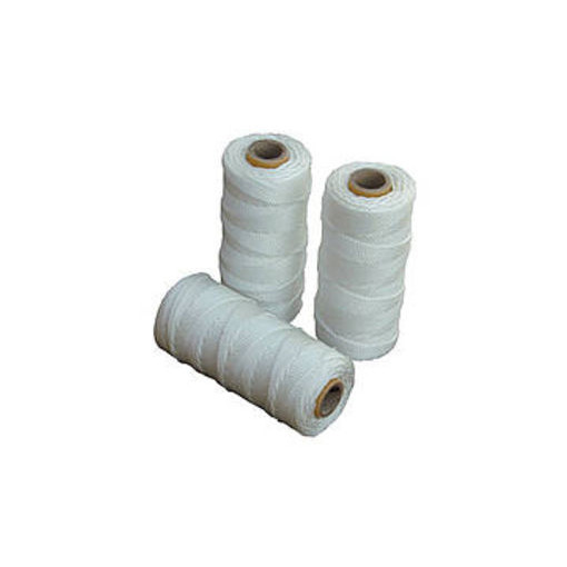 Mursnor 6/10 hvid nylon 100g 1,0mmx150m krydsspole