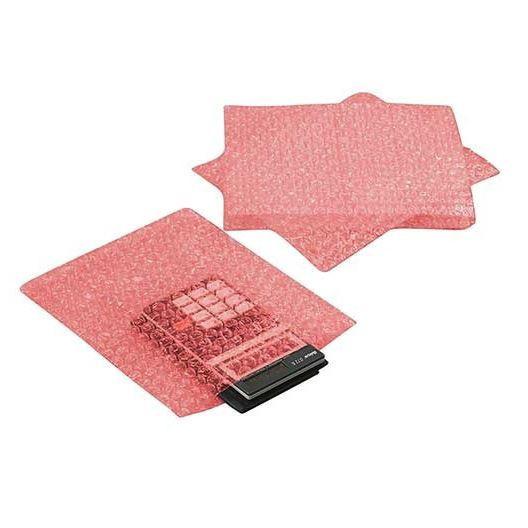 Boblepose antistatisk rosa 300x400mm 150stk/kar