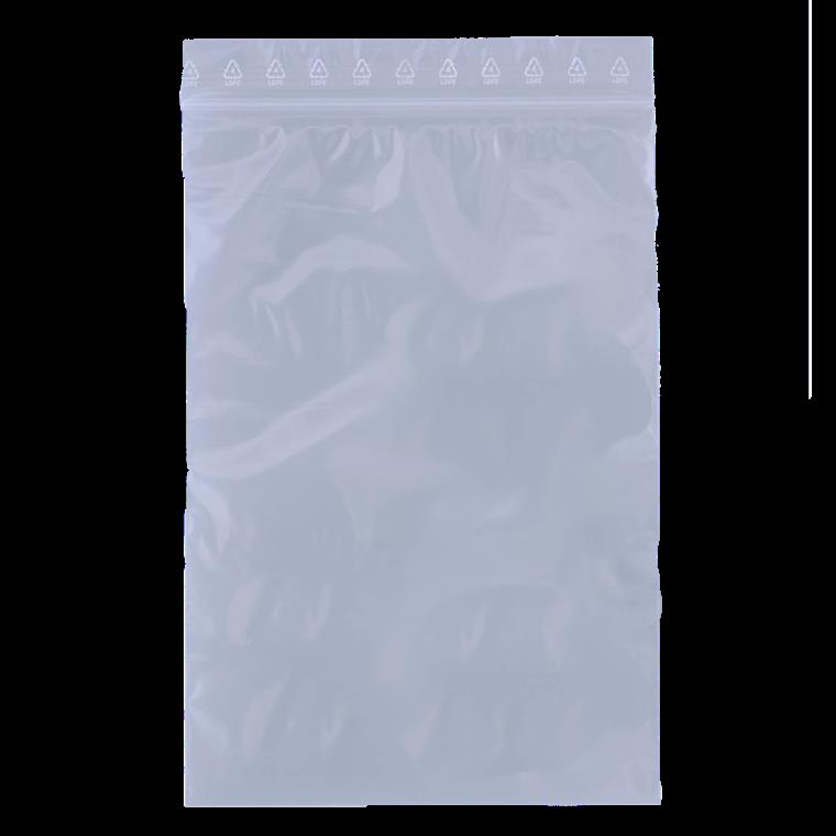 Lynlåspose BNT 60 x 80 mm uden skrivefelt og hul - 1000 stk i pakke
