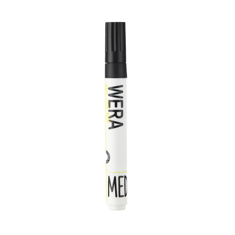 Whiteboardmarker WERA sort - rund 1-3mm