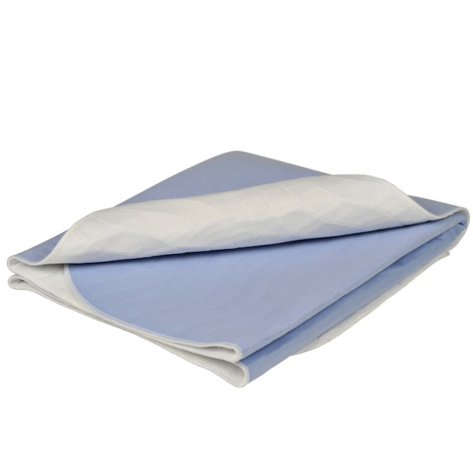 Underlag, Abena Abri-Soft Washable, 85x75cm, lyseblå