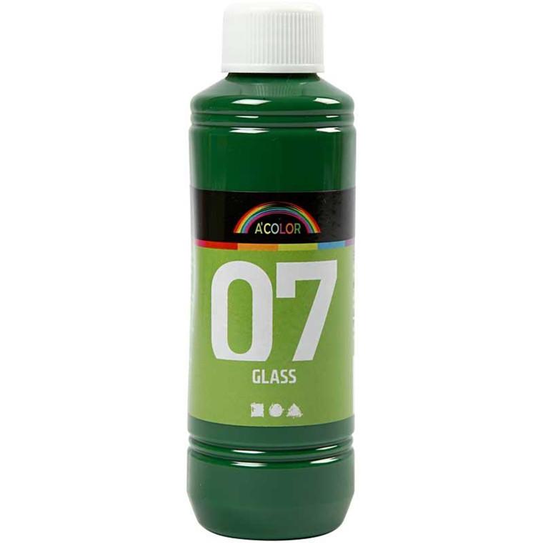 A-Color Glass, brilliant grøn, 250ml