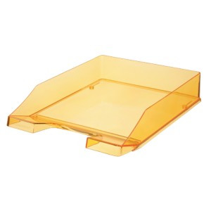 A4 brevbakke Office Depot - transparent gul