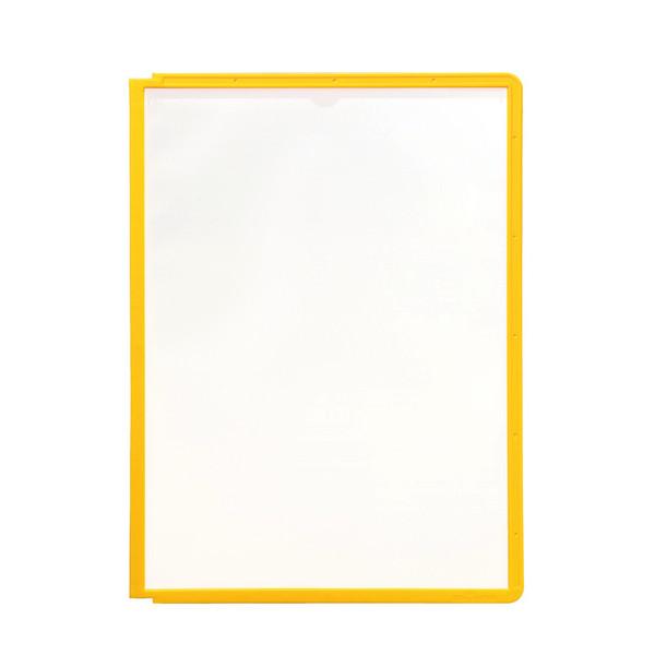A4 registerlomme - Durable Sherpa med gul kant - 1 stk