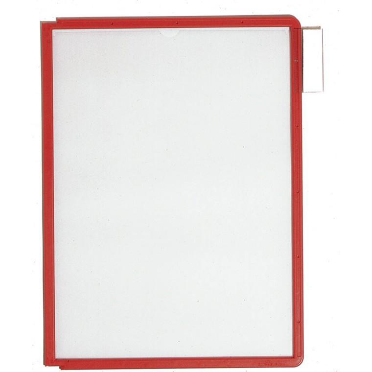 A4 registerlomme - Durable Sherpa med rød kant - 1 stk