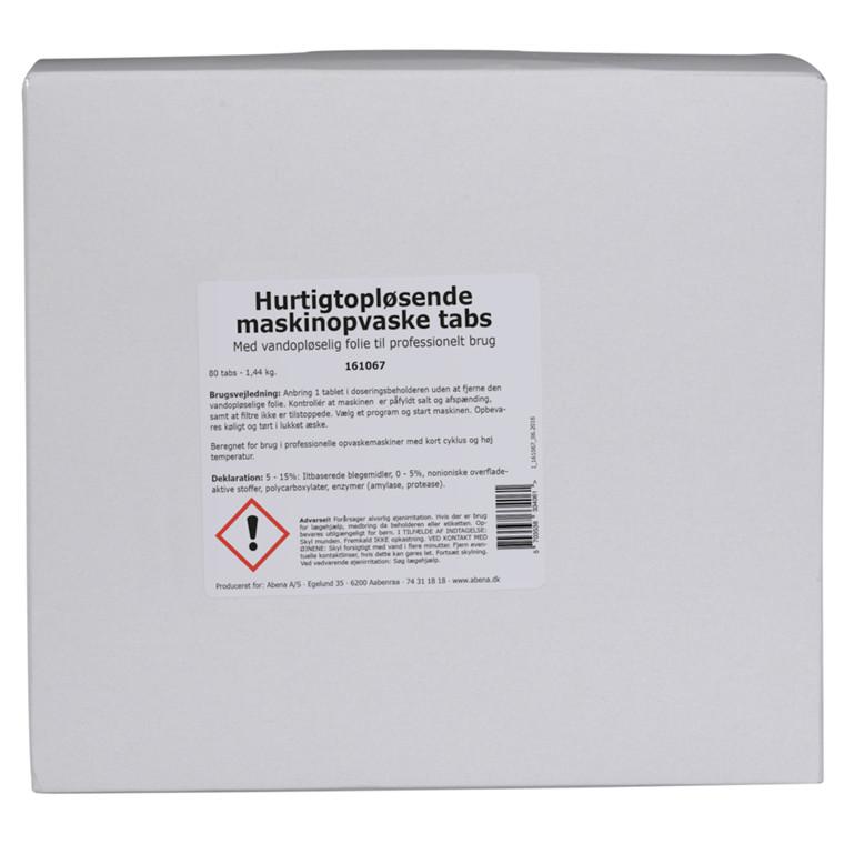 Abena opvasketabs uden klor hurtigopløselig | 100 stk