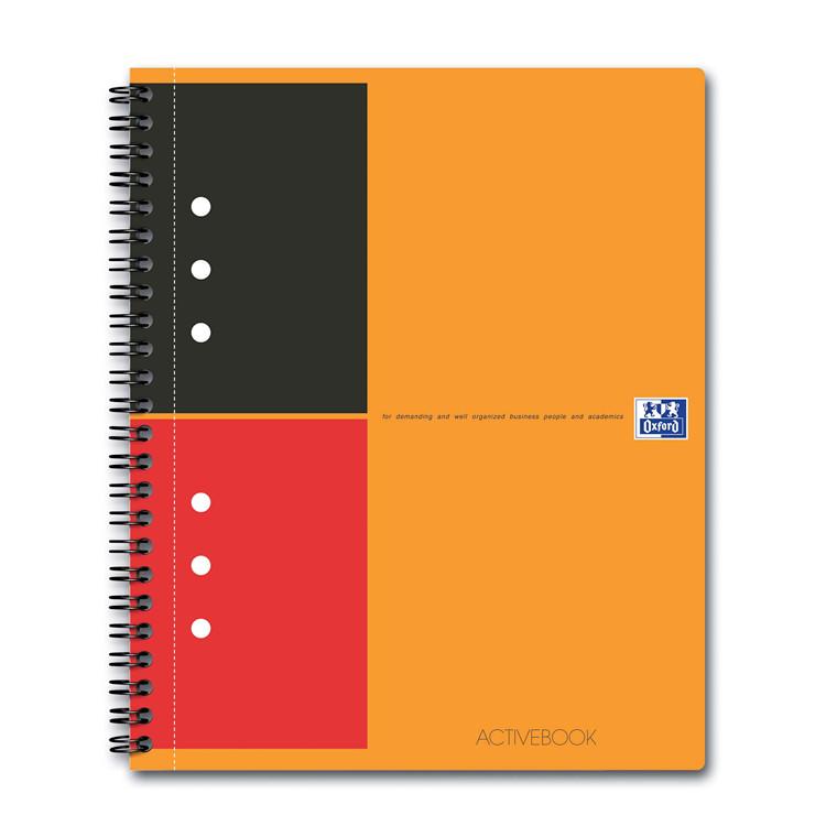 Oxford International Notesbog A5+ ActiveBook - 80 linjeret sider
