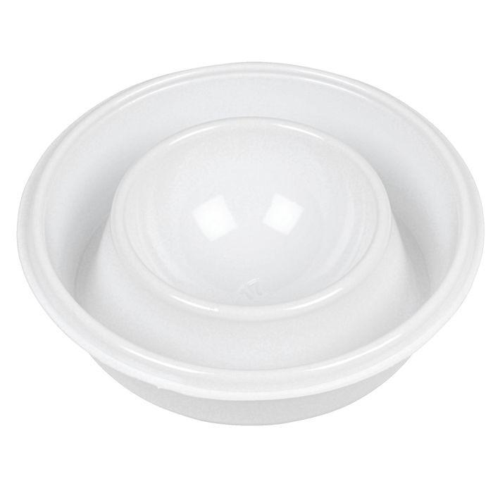 Æggebæger, Gastro-Line, hvid, polystyren, ø8cm