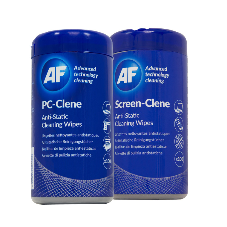 AF BUNDLE PC surface-clene tub (100pcs) + Screen-clene tub (100