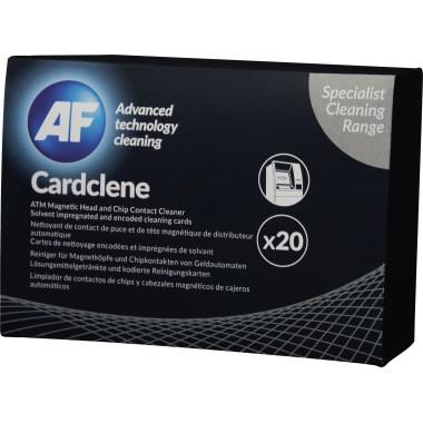 AF Cardclene - Rensekort til magnet og chip læsere - 20 stk
