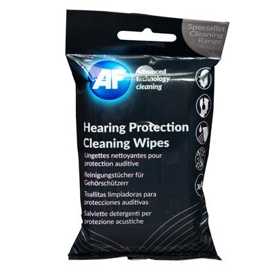 AF Hearing Protection Wipes - Høretelefon rens vådservietter - 40 stk