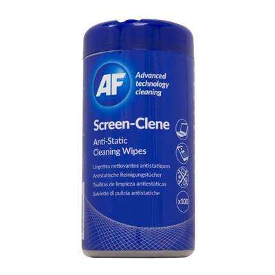 AF Screen-Clene - Skærmrens Vådservietter - 100 stk