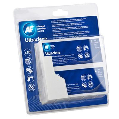 AF Ultraclene - Overfladerens våd og tørserviet - 2 x 10 stk