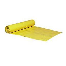 Affaldsække gul 720 x 1120 mm 100 my - 1 rulle
