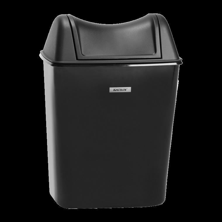 Katrin 92223 Lady Hygiene Bin 8 Liter  - Sort Affaldskurv til hygiejne artikler