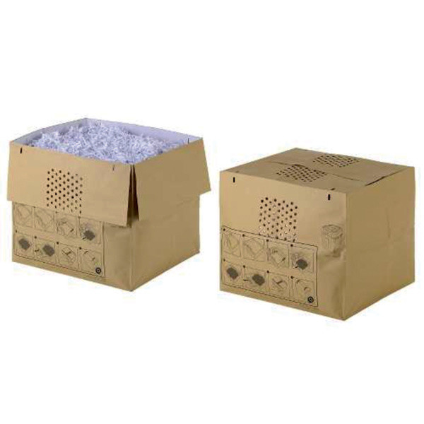 Affaldspose t/makulator Rexel Auto+ 600 80L recirkulerbar
