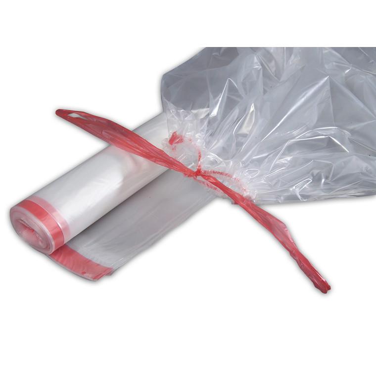 Klare Affaldsposer 100 Liter med snoretræk - 700 x 1100 mm - 1 rulle