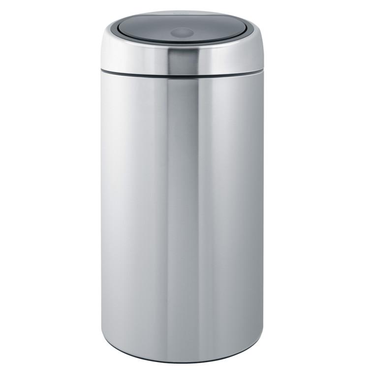 Affaldsspand, Brabantia, børstet stål, 45 l