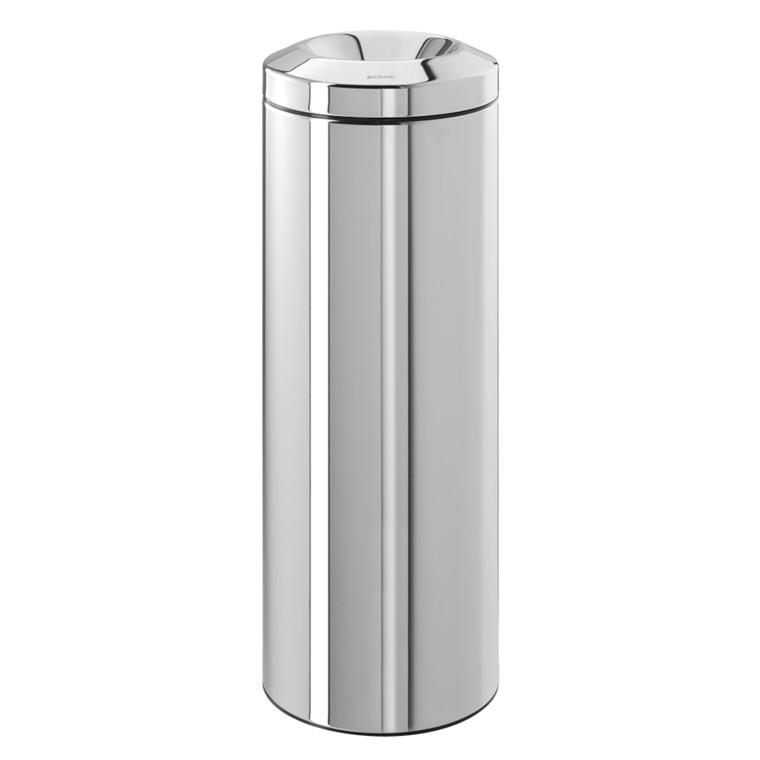 Affaldsspand, Brabantia, selvslukkende, stål, 20 l