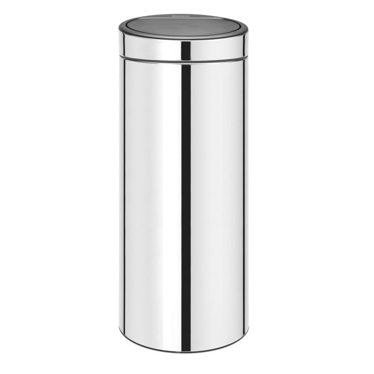 Affaldsspand, Brabantia Touch bin, 30 l, stål *Denne vare tages ikke retur*