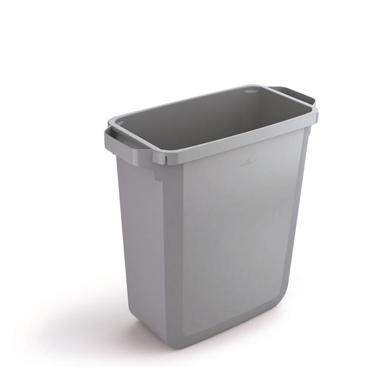 Durabin 60 Grå Affaldsspand 60 liter - Firkantet spand