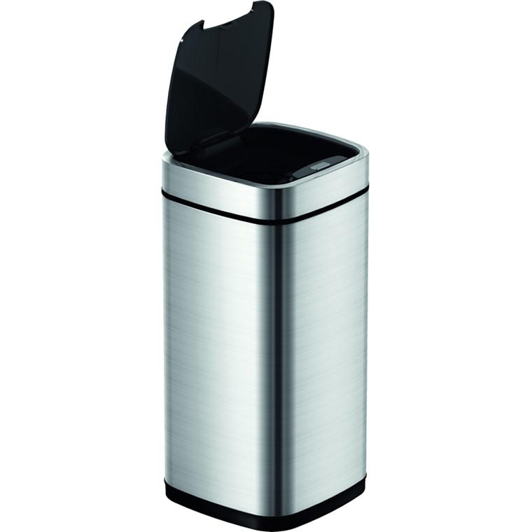 Affaldsspand, EKO, Mat rustfri stål, 50 l