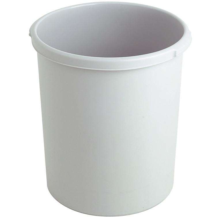 Affaldsspand, grå, 30 l
