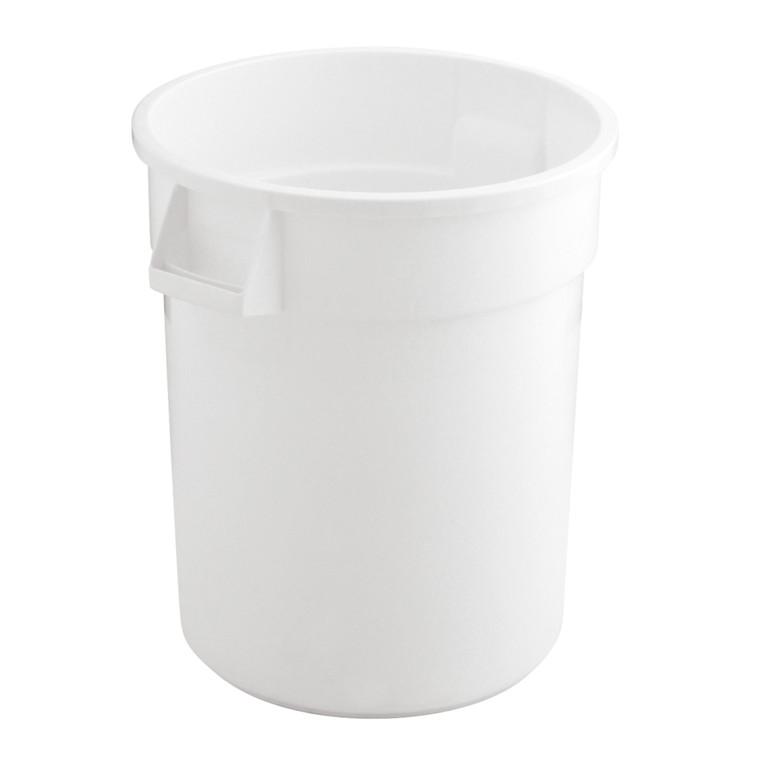Affaldsspand, Rubbermaid Brute, 76 l, hvid