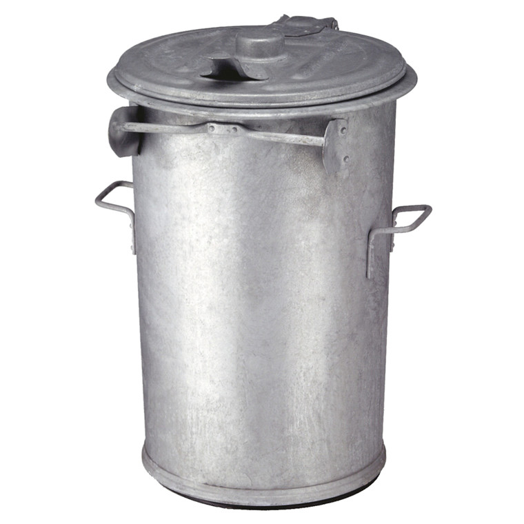 Affaldsspand, stål, 110 l