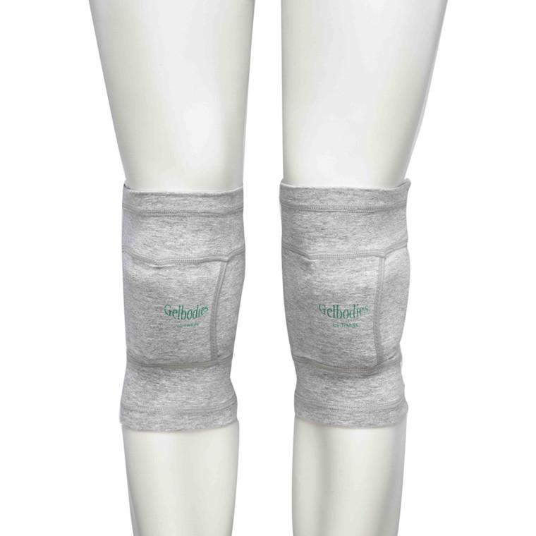 Aflastning, GelBodies, knæ, grå, medium, 28-33 cm