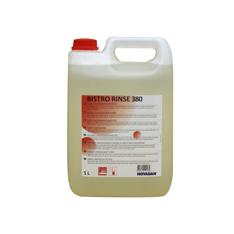 Novadan Bistro Rinse 380 - Surt afspændingsmiddel - 5 liter
