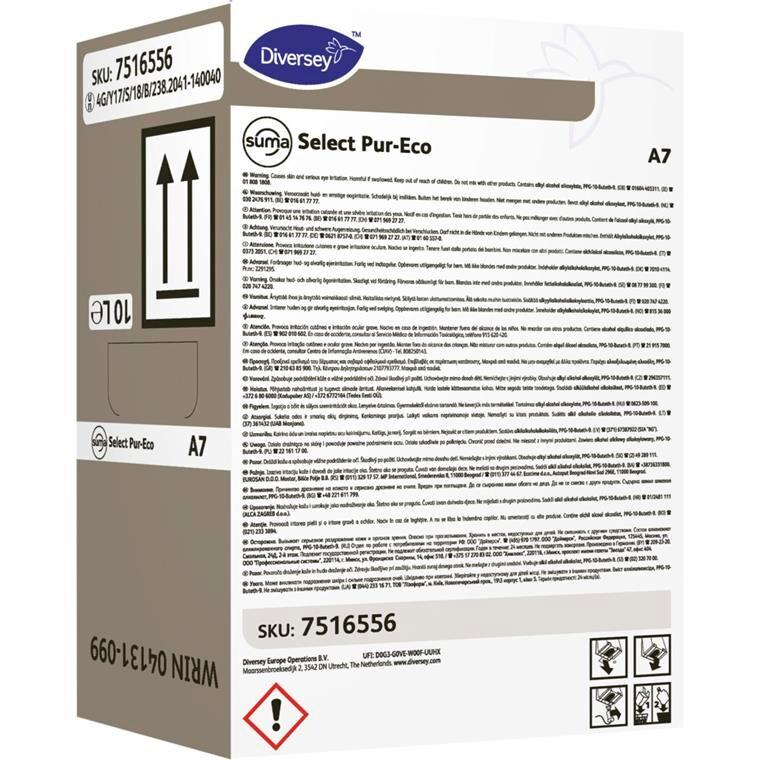 Afspænding, Suma Select Pur-Eco A7, Safepack, 10 l,