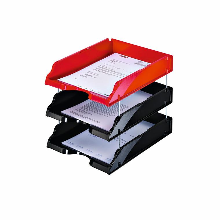 Afstandsstænger til Esselte Transit brevbakker - 4 stk i pakke