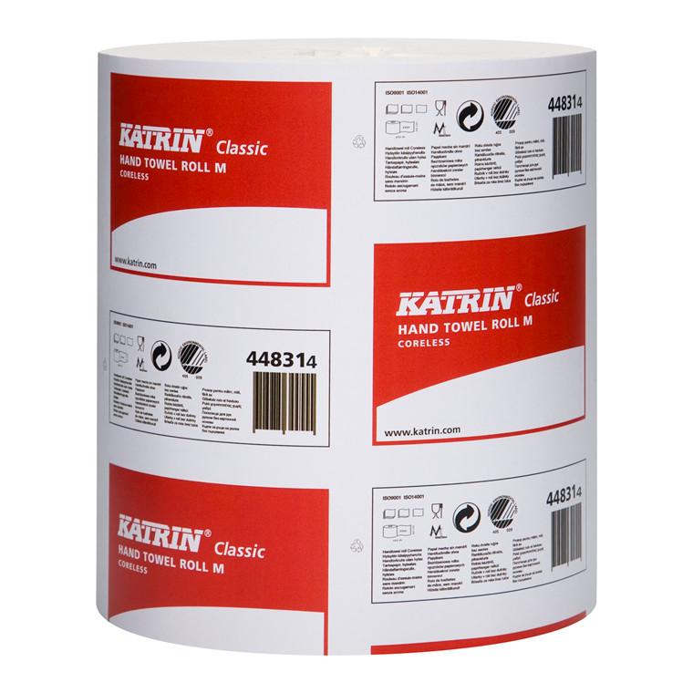 Katrin 448311 Classic M Aftørringspapir 1 lag 20,5 cm x 320 meter - 6 ruller