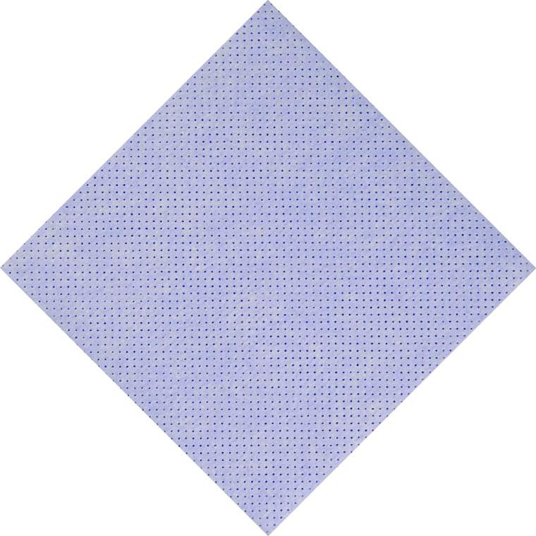 Alt-mulig-klud, blå, perforeret, 140g/m2, 38 x 38 cm