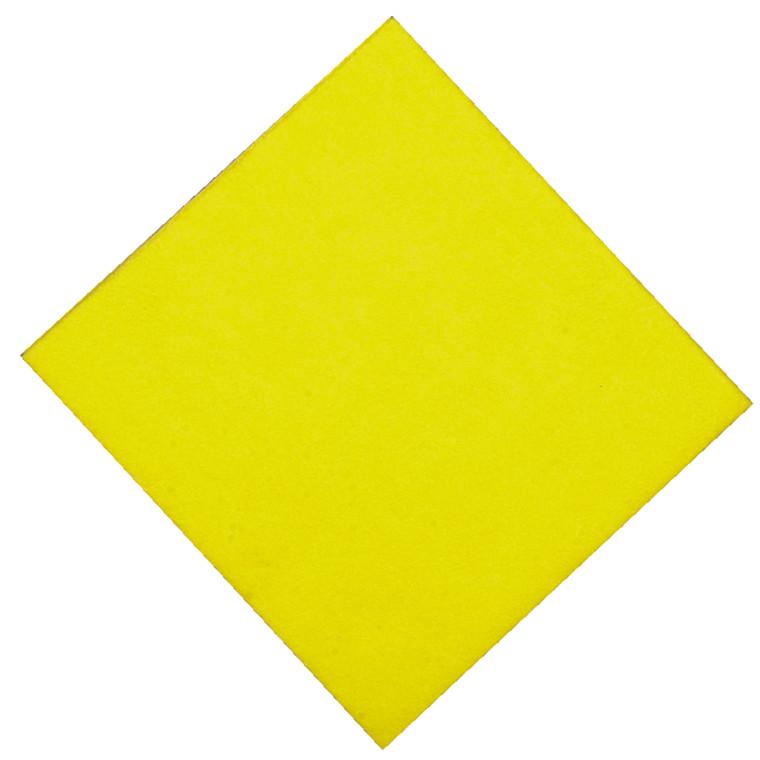 Alt-mulig-klud, gul, perforeret, 140g/m2, 38 x 38 cm