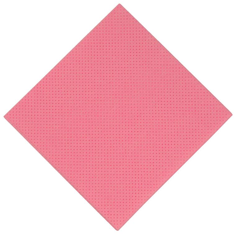 Alt-mulig-klud, rosa, perforeret, 140g/m2, 38 x 38 cm
