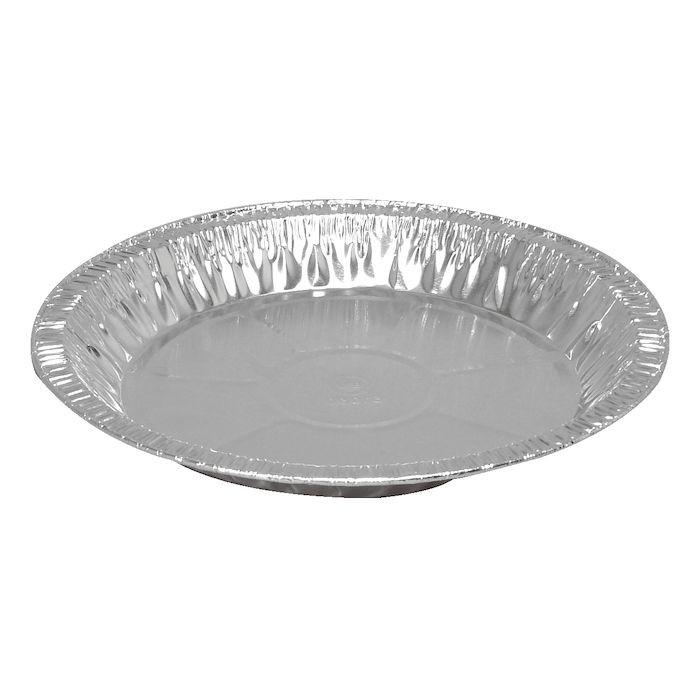 Alu-form, rund, med rullekant, aluminium, 41 cl