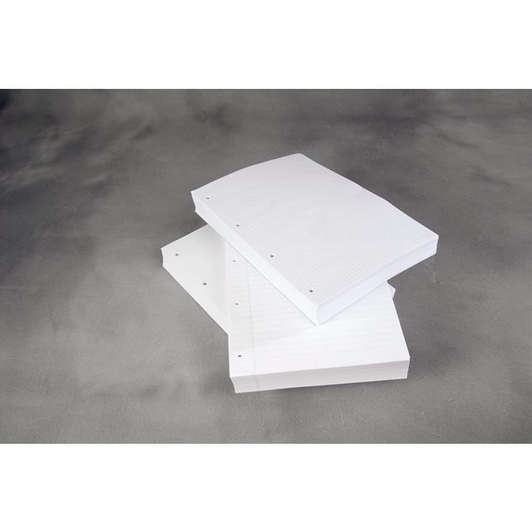 Arbejdsblade A4 5mm kvadr. m/4 huller 500stk/pak