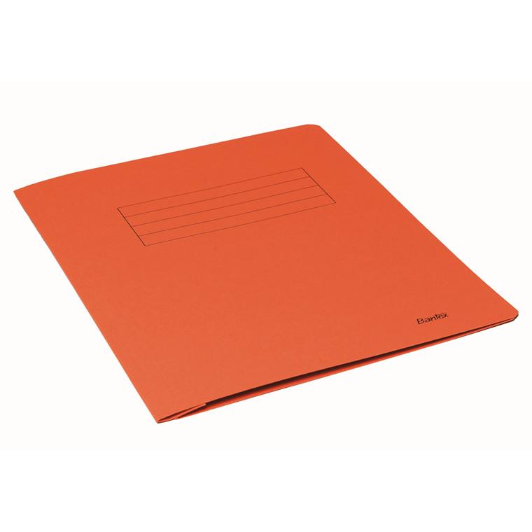 Bantex A4 Arbejdsmappe orange med skrivefelt - 100090834