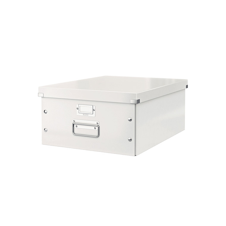 Leitz Click & Store arkivæske 37 x 20 x 48 cm - Hvid