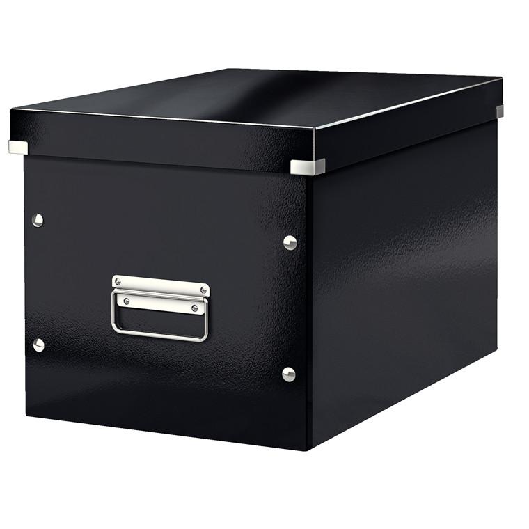 Arkivboks Leitz Click&Store Cube Large sort