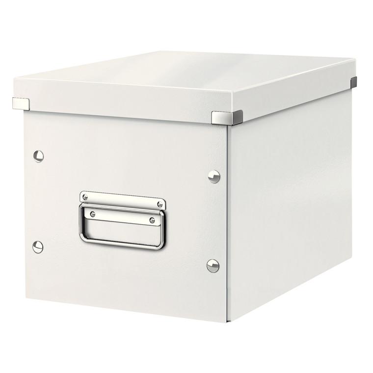 Arkivboks Leitz Click&Store Cube Medium hvid