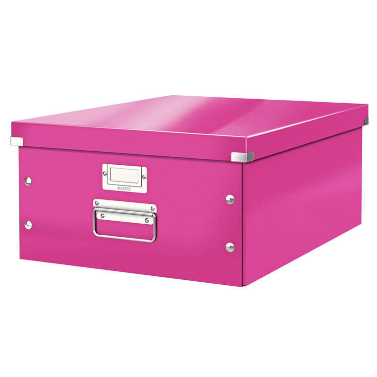 Leitz Click & Store arkivæske 37 x 20 x 48 cm - Pink