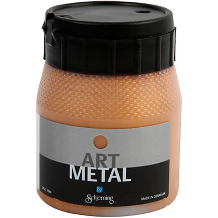 Art Metal maling, mørk guld, 250ml