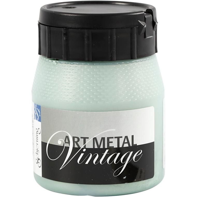 Art Metal maling, perlegrøn, 250ml