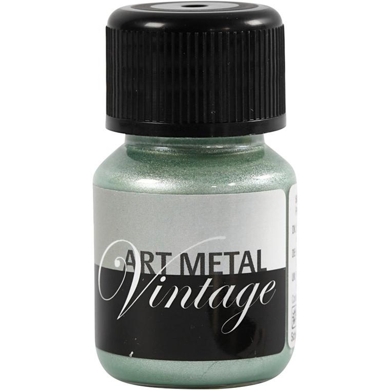 Art Metal maling, perlegrøn, 30ml