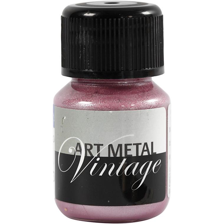 Art Metal maling, perlerød, 30ml