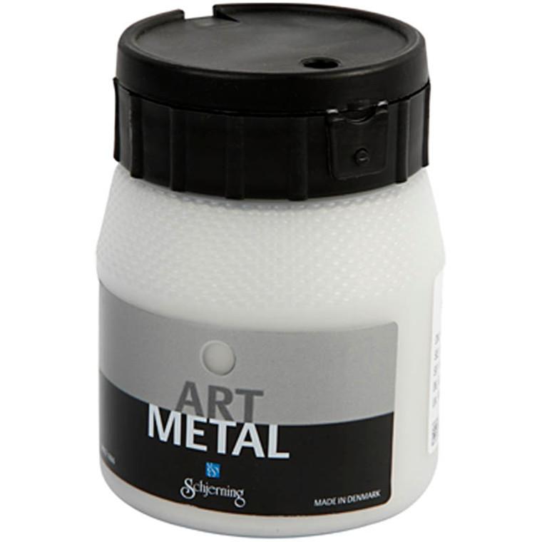 Art Metal maling, sølv, 250ml